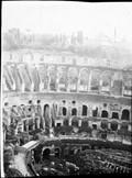 1900 07 01 Nîmes vue du haut des arènes avant une course de taureaux