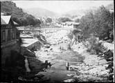 1901 08  Lozère Route de Bleymard à Allais, dégâts de l'innondation de sept 1900