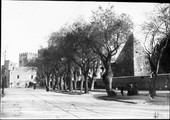 1900 04 12 Italie Rome porte saint-Paul et pyramide de Cestus
