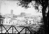 1900 04 12 Italie Rome  Le Forum, vu du Palatin