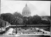 Rome, Vatican,  Colisée et terrasse du jardin Farnèse