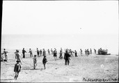1900 04 25 Italie Marina Grande-pêcheurs napolitains tirant les filets