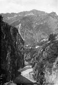 1903 09 11 Italie gorges de la Diveria à l'entrée du tunnel du Simplon