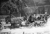 1903 09 11 Italie Iselle départ des voitures de poste