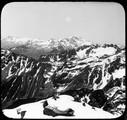 1904 Savoie massif de Belledonne Panorama du Puy Gris 2908 m - les Grandes Rousses