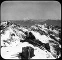 1904 Savoie massif de Belledonne Panorama du Puy Gris 2908 m le Mont-Blanc