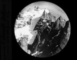 1904 Chamonix Vue au téléobjectif