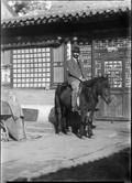 1898 Chine à cheval
