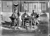 1898 10 Chine chanteurs musiciens ambulant