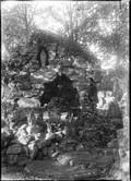 1898 Chine grotte de Lourdes