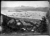 1898 08 02 Chine Hong Kong rade vue du funiculaire