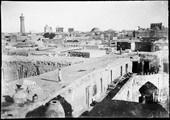 1897 09 12 Ouzbékistan Boukhara cour de notre auberge vue de la terrasse