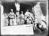 1898 11 Chine T'A Wouan T'An cour de l'église à mon départ