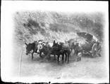 1898 11 Chine Passe de Han Hoo Ling  voiture pénible