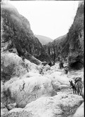 1898 11 23 Chine  Ling Ting Ko  gorge de calcaire carbonifère