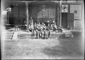 1898 10 13 Chine Tcheng Ting Fou L'école en plein air