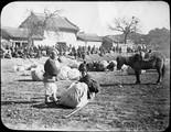 1898 11 Chine Kiang Tchoo, Marché aux cotons
