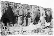 1898 11 Chine  Ts'ouen Maisons sous Loess