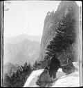1899 01 Chine Ta Houa Chan, Arrète en surplomb de Toang Feng