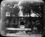 1899 01 Chine Si An Fou, extérieur dee la grande mosquée des T'ang