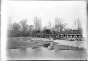 1899 01 Chine  Si an Fou, vue générale d'un pont qu'on répare