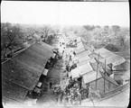 1899 01 Chine  Si An Fou, vue de la porte 0
