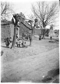 1899 02 01 Chine Ho Nan, jour de l'an chinois, gosses à la balançoire