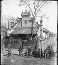 1899 01 Chine Ts'ing Ling, en bicyclette au Chen Si, Les Pères Maurice et Goet