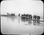 1899 01 Chine Ts'ing Ling, pont de Tchao Kia en réparation