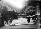 1899 06 Japon  Nikko, allée du parc