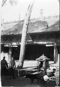 1898 11 Chine  T'aé Yang Sue, temple et chaise de Feydel (photo Feydel)