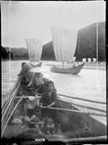 1899 06 Japon  dans les rapides  les-rameurs