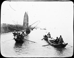 1899 03 Chine  pêche sur le fleuve bleu, avant Tchan Fou