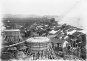 1899 03 Chine  Fours à chaux en bambou à Houang Che Kiang