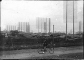1899 06 Japon Tokyo  poteaux télégraphiques