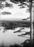 1899 06 Japon Mont Fuji vu de l'hotel de Shozi