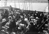 1899 07 Canada Vancouver, arrivée, déballage de chinois immigrants