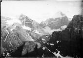 1899 07 Canada panorama du Saint Piran sur le Hazel Peak et le lac Louise