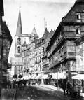 1897 07 25 Allemagne  Harz Halberstadt maison du bottier et grande rue