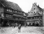 1897 07 25 Allemagne  Harz Halberstadt Markt platz