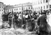 1897 07 29 Pologne Varsovie juifs au marché
