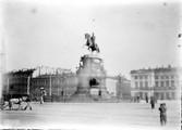 1897 07 31 Russie Saint-Pétersbourg Statue de Nicolas 1er place Marie