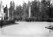 1897 08 02 Russie Saint-Pétersbourg château de Péterhof régiment cosaque