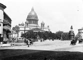 1897 08 02 Russie Saint-Pétersbourg cathédrale Saint Isaac et statue de Nicolas 1er