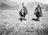 1897 08 24 Russie couple en voyage près d'Oubkoulam