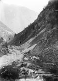 1897 08 25 Russie Descente dans la vallée du Kouban (Elbrouz) par la vallée de l'Inoukol - mines de plomb