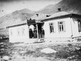 1897 08 25 Russie  Mairie d'Outchkoulane où nous recevons toute la population