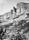 1897 08 27 Russie Falaise calcaire de la  La Bermamyt