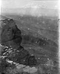 1897 08 27 Russie L'Elbronz à 40 km vu de la Bermamyt (2591 m)