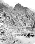 1897 09 01 Russie  Passe du Darial laves du Kazbek (andésites)